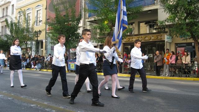 Οι σημαιοφόροι μας (28/10/2011)